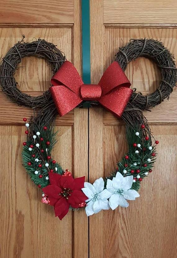 Mickey Mouse Christmas Wreath