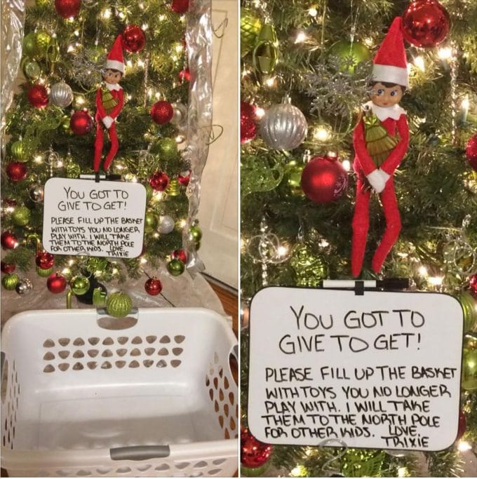 Give to Get - Over 40 of the BEST Elf on the Shelf ideas!