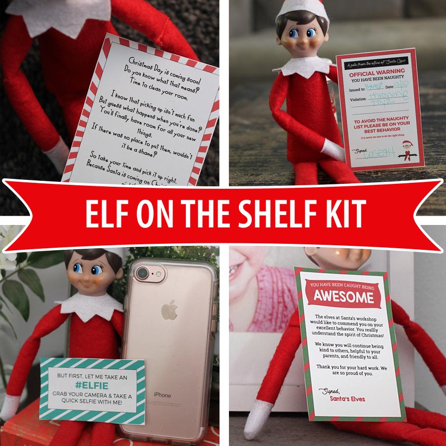 Elf On The Shelf Kit