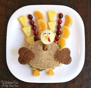 Thanksgiving Turkey Kids Lunch