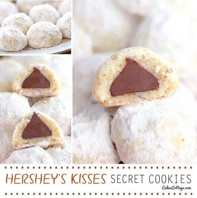 Hershey Kisses Secret Cookies