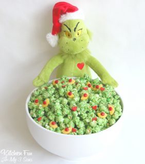 Grinch Popcorn – Easy Christmas Treat