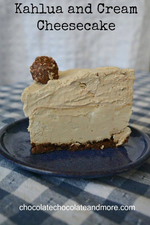 Kahlua and Cream Cheesecake