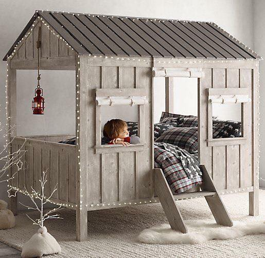 Cabin Bed for Kids