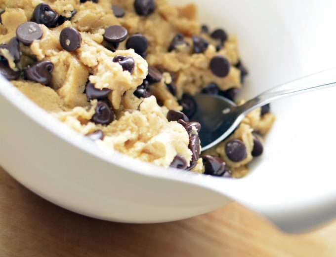 Edible Eggless Cookie Dough Recipe