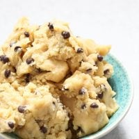 Edible Eggless Cookies Dough Recipe