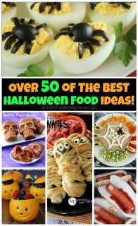 50+ of the BEST Halloween Food Ideas