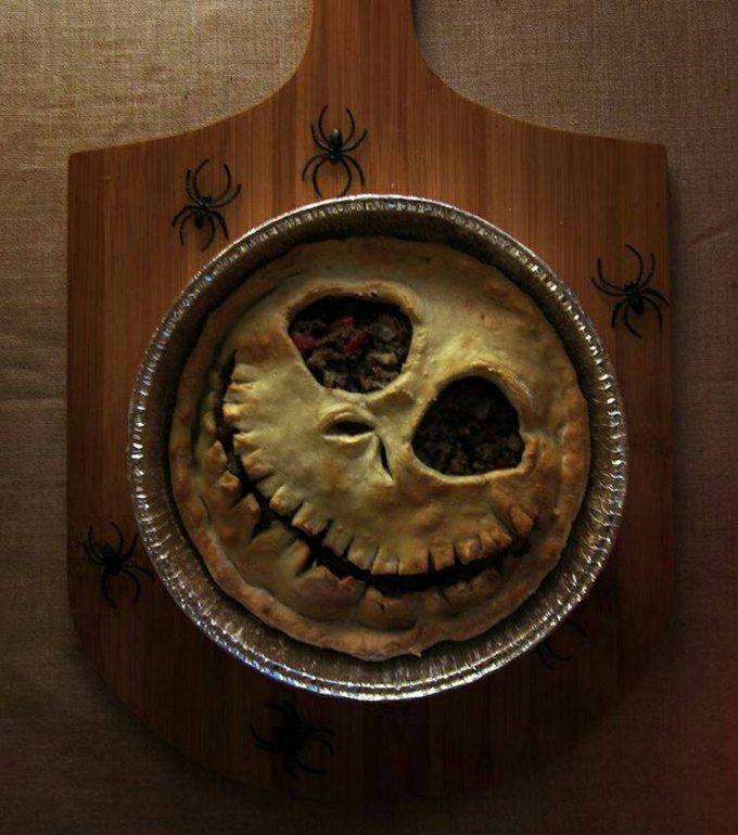 Jack Skellington Pie...so cool for Halloween!