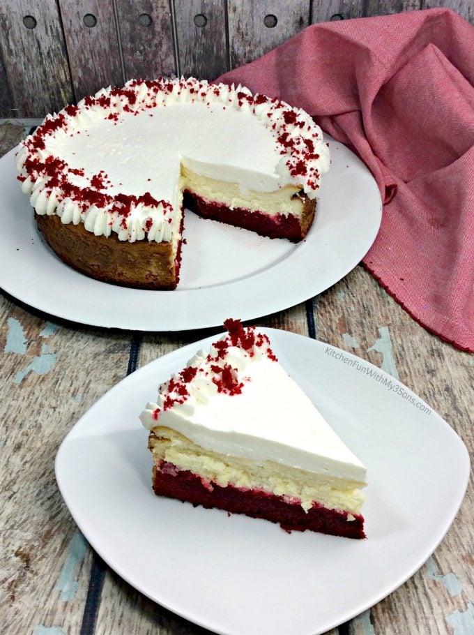 Red Velvet Cheesecake