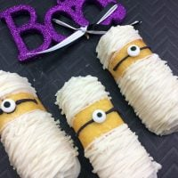 Minion Mummies for Halloween!
