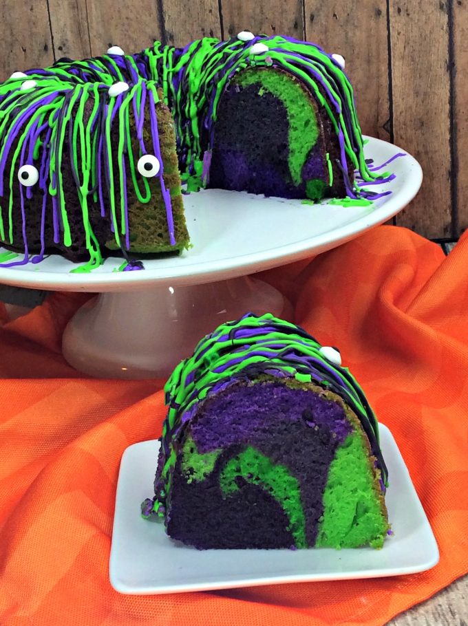Witches Brew Bundt Cake