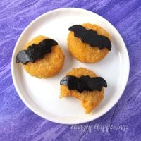Halloween Moon Cheese Snacks