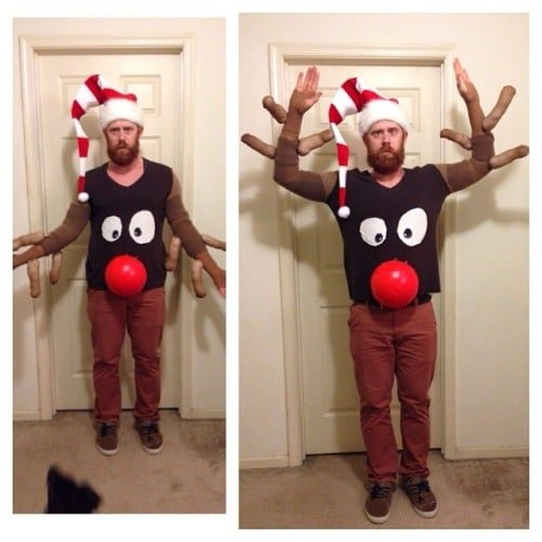 Reindeer Sweater...Over 30 of the BEST Ugly Christmas Sweater ideas!