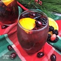 Blackberry Pomegranate Sangria