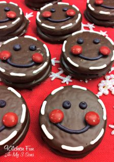 Gingerbread Man Oreos