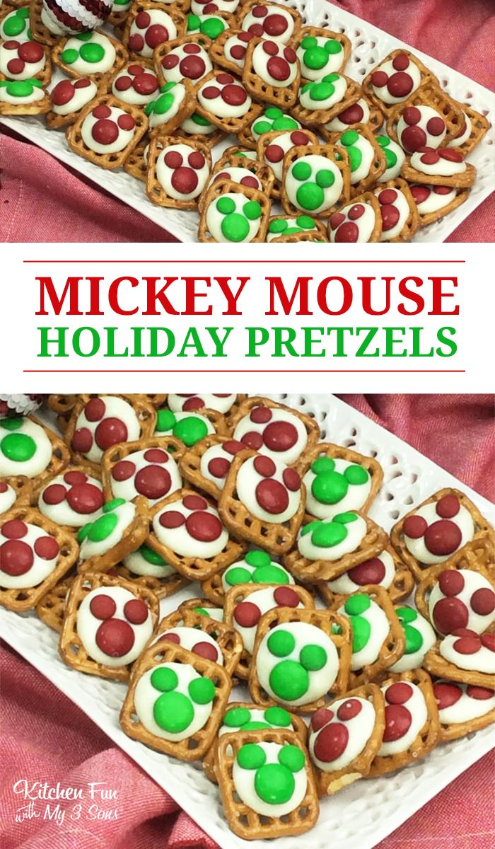 Mickey Mouse Pretzels