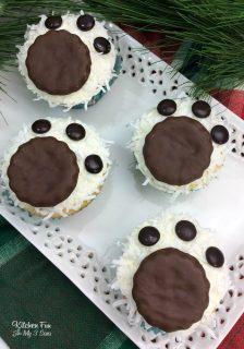 Polar Bear Cupcakes