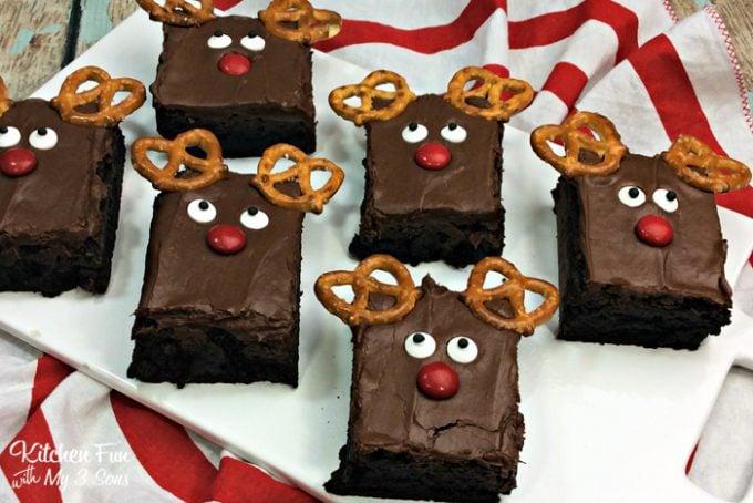 Reindeer Brownies