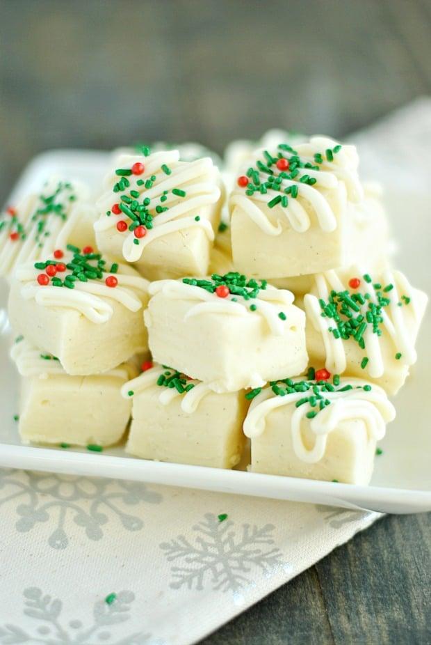Vanilla Bean Fudge - The BEST Holiday Fudge Recipes!