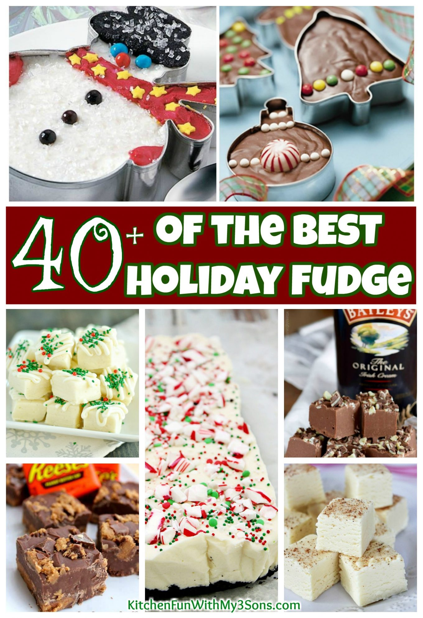 The BEST Holiday Fudge Recipes!