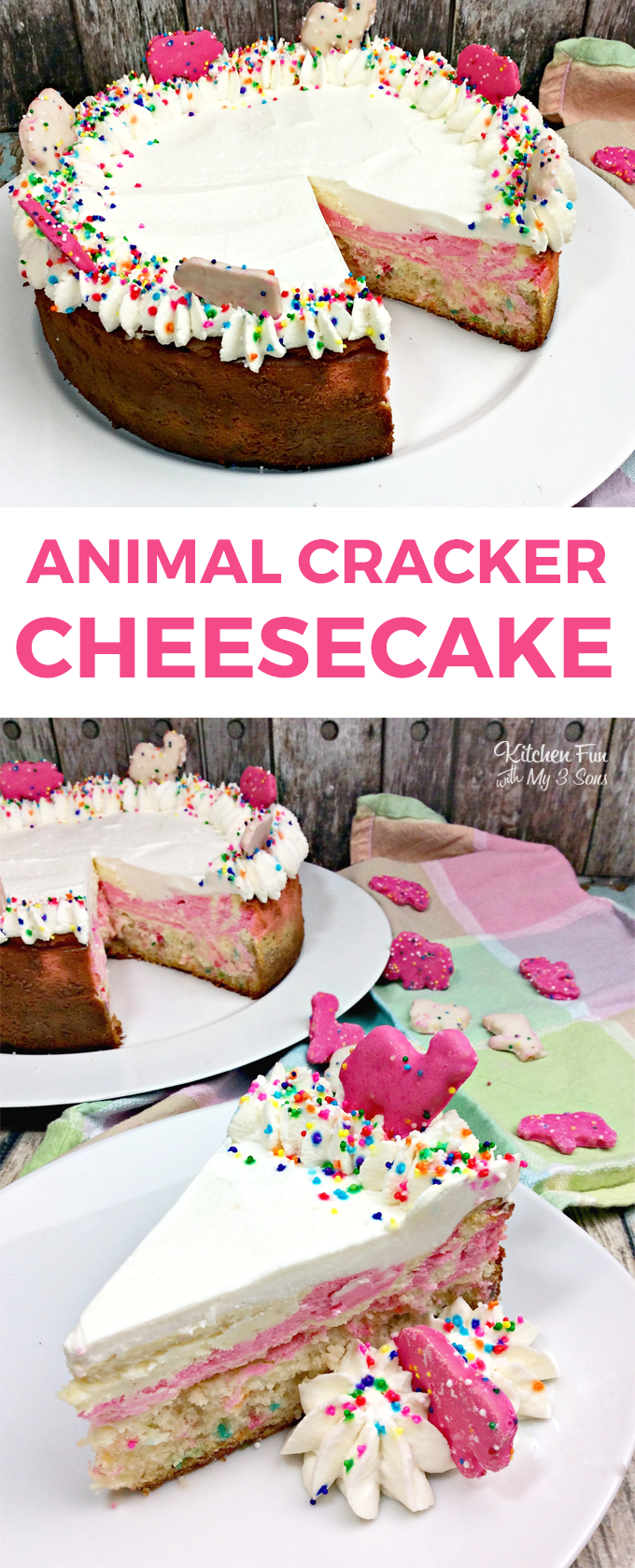 Animal Circus Cheesecake