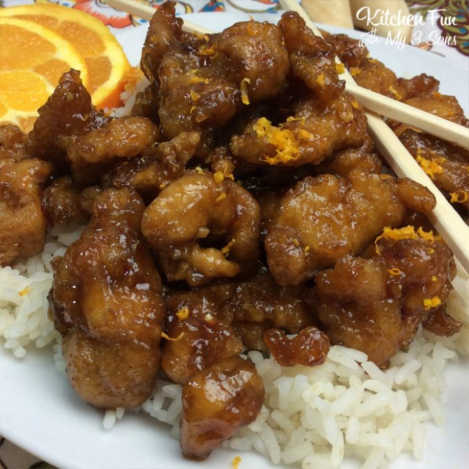 Copycat Orange Chicken