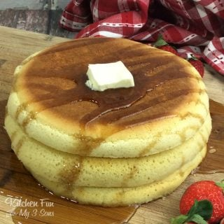 Fluffy Puffy Pancakes