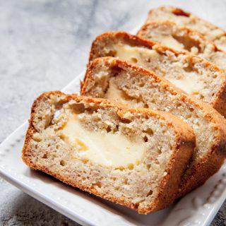 Cream Cheese Banana Bread
