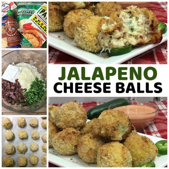 Jalapeno Bacon Cheese Balls