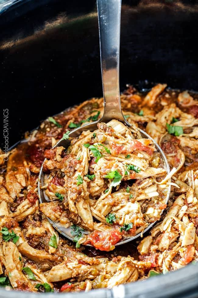 Slow Cooker Recipes - Mexican Chicken