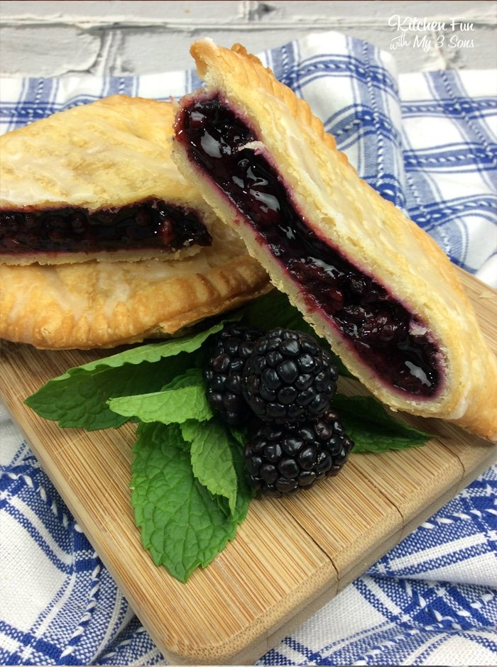Air Fryer Blackberry Hand Pies