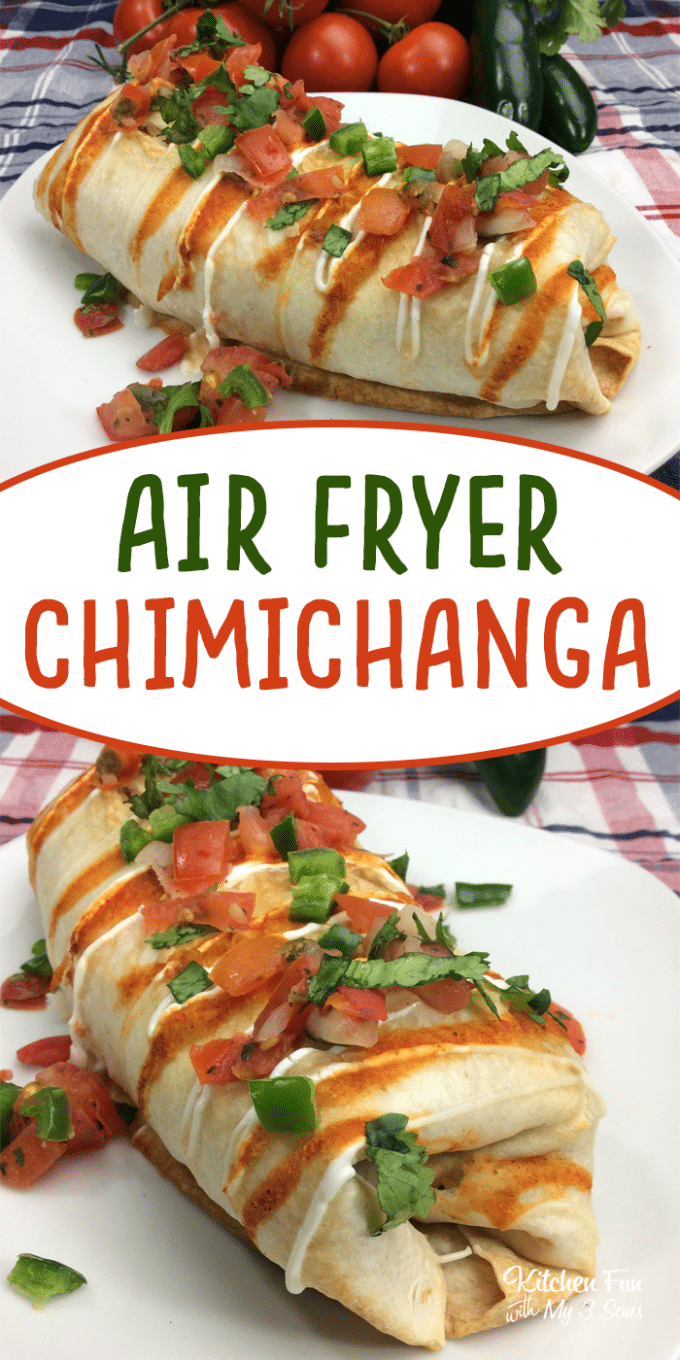 Air Fryer Chimichangas
