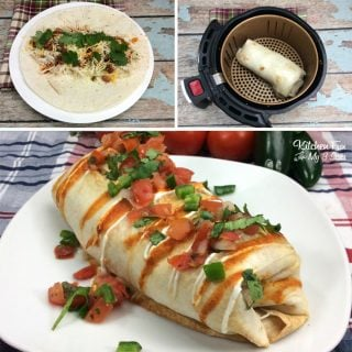 Air Fryer Chimichanga