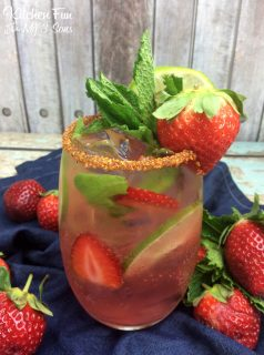 Strawberry Mexican Mojito