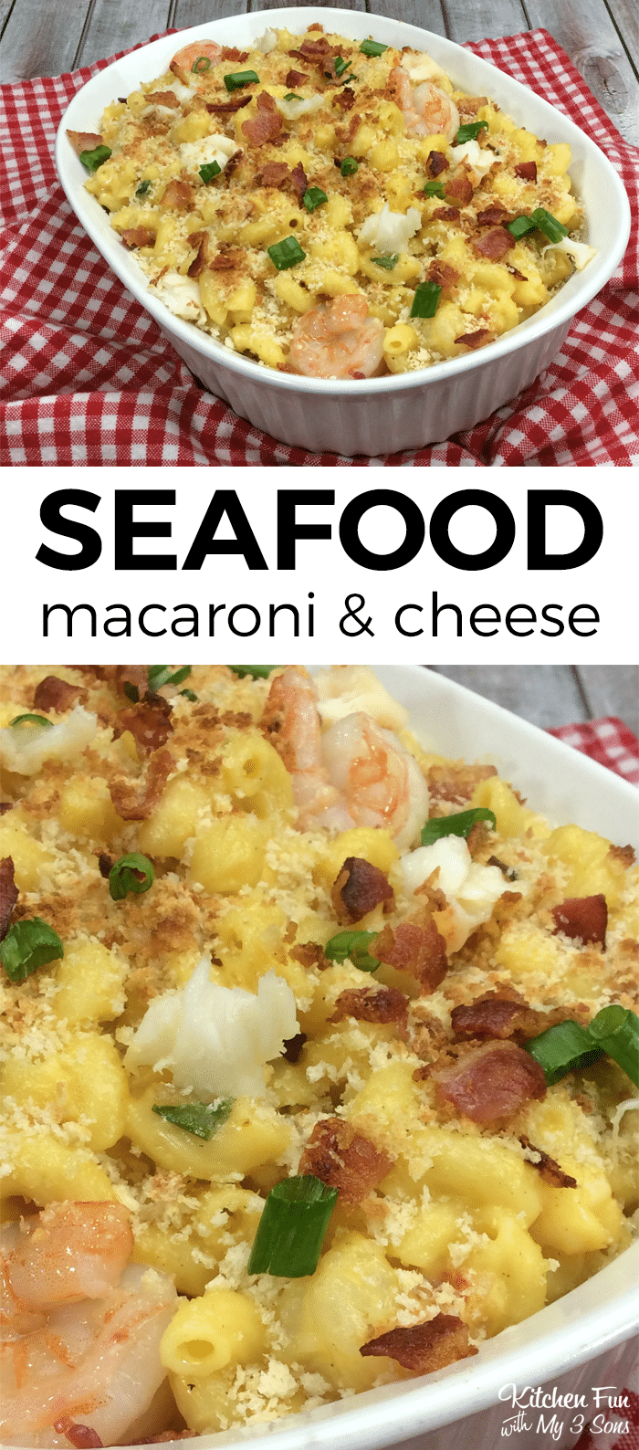 Seafood Macaroni and Cheese