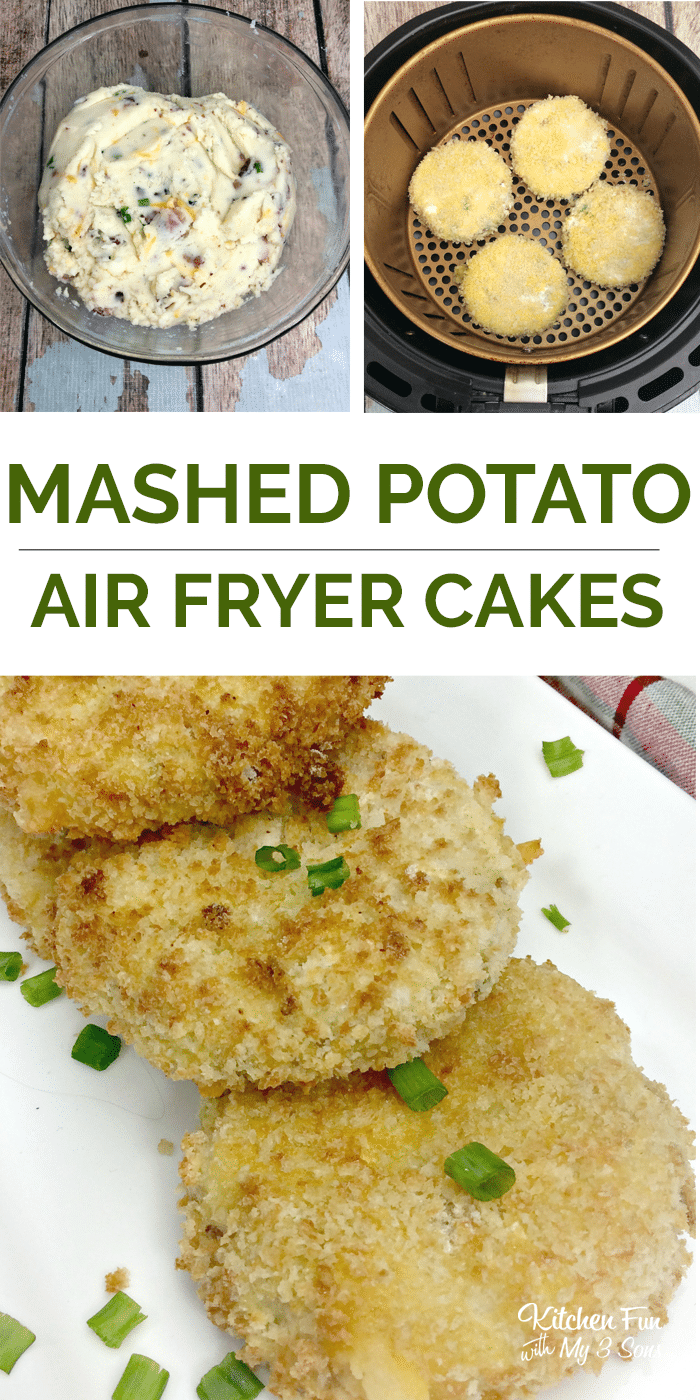 Air Fryer Mashed Potato Cakes