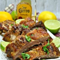 Instant Pot Margarita Baby Back Ribs