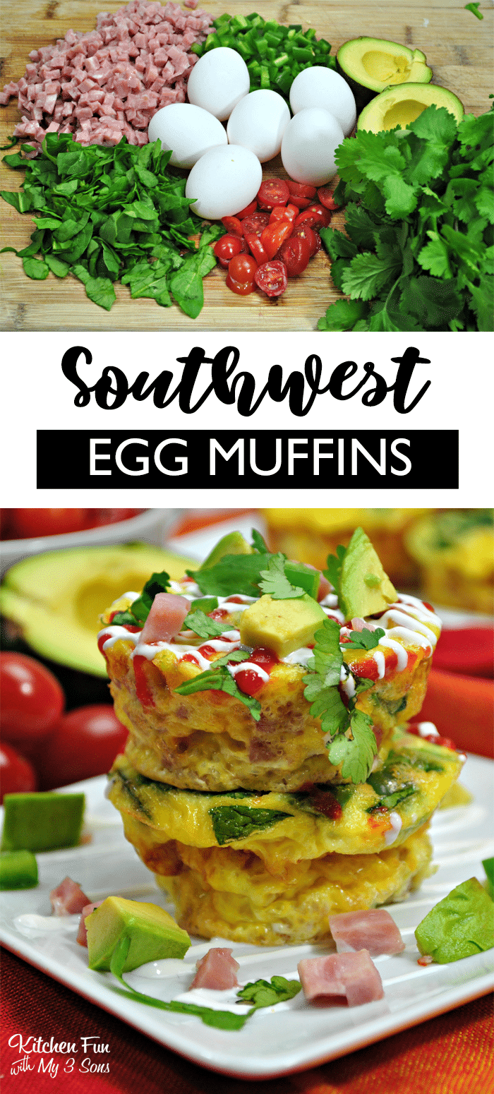 Southwest Egg Muffins