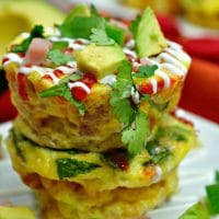 Southwest Egg Muffin