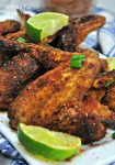 Air Fryer Dry Rub Chicken Wings