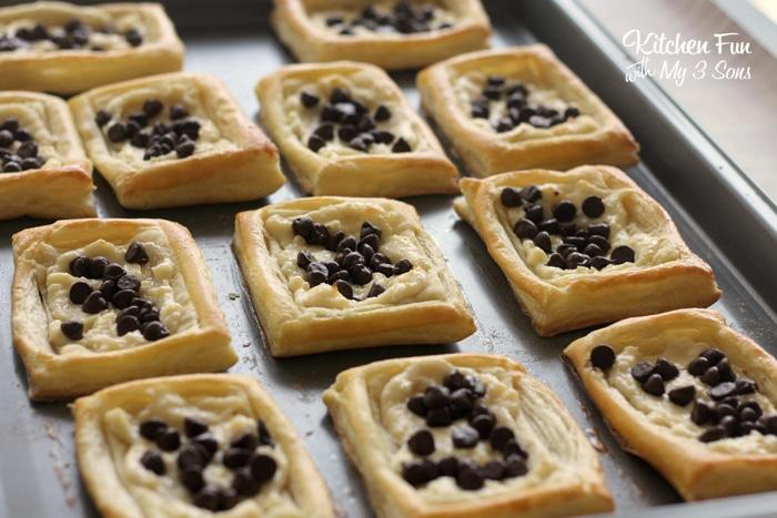Chocolate Cream Cheese Danish