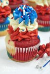Fireworks BOMB POP Cupcake