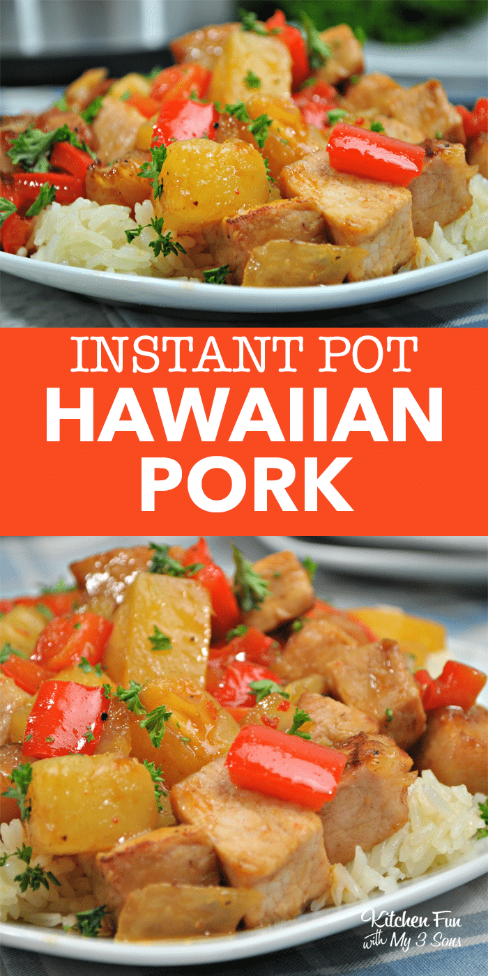 Instant Pot -- Hawaiian pork entree