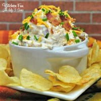 Loaded Baked Potatoe Dip