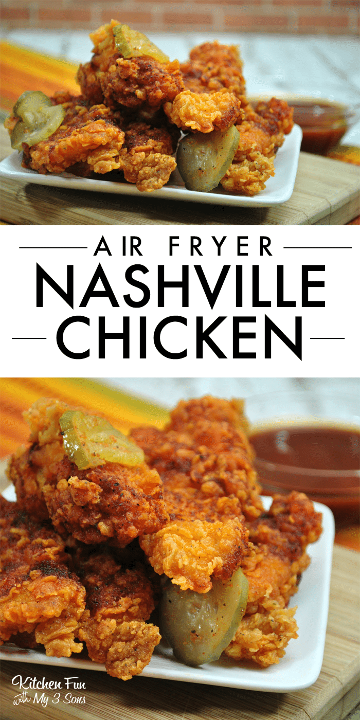 Nashville Chicken in the Air Fryer