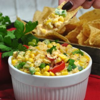 Spicy Southern Hot Corn Dip