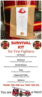 Fire Fighter Survival Kit