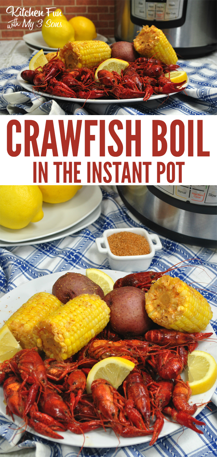 Instant Pot Crawfish Boil