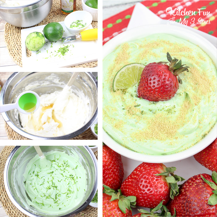 Easy Key Lime Cheesecake Dip