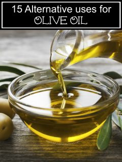 15 Alternative uses for Olive Oil
